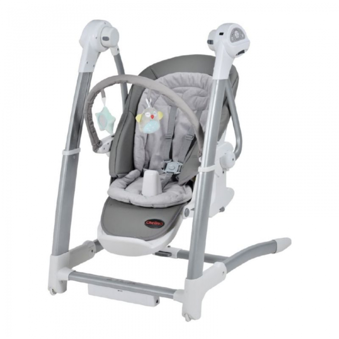 ROYAL 3 IN 1 GREY HIGH CHAIR