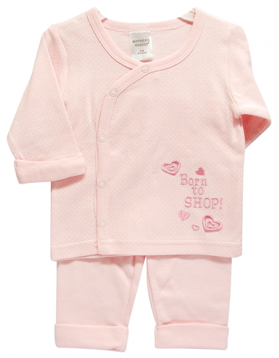 4fc36df61 2PC LONG TOP AND PANTS PINK BORN TO SHOP